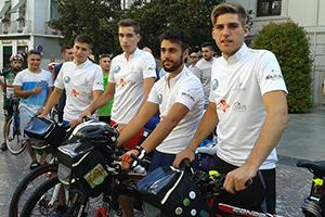 Ciclistas recorren 4.000 kilómetros para pedir un Pacto Ambiental