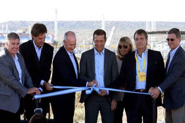 Shell inauguró una planta para procesar shale oil en Sierras Blancas