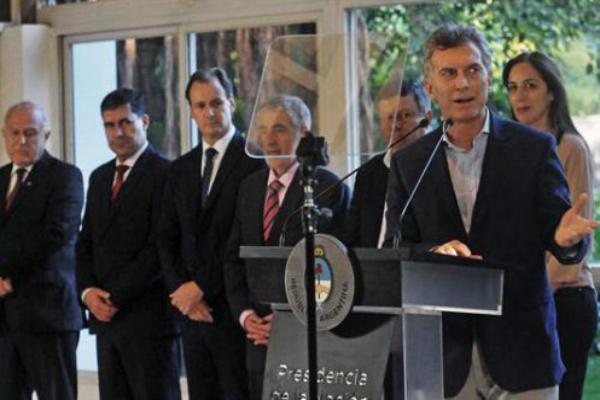 El presidente Macri presentó el Acuerdo Federal de Energía