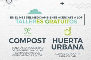 El Hospital Británico organizó talleres de huerta urbana y compost