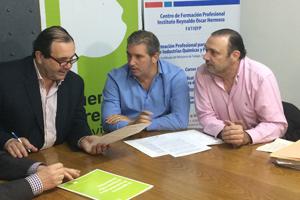 El OPDS firmó convenio de colaboración con químicos y petroquímicos