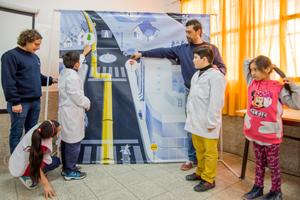 TGS desarrolló un programa de concientización en escuelas públicas
