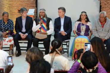 El Gobierno prorrogará una Ley de Tierras para las comunidades originarias