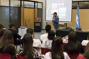 Dictan una jornada de educación ambiental para estudiantes cordobeses
