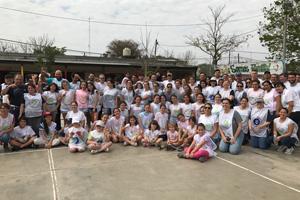 Quilmes emprendió una nueva jornada de voluntariado en Corrientes