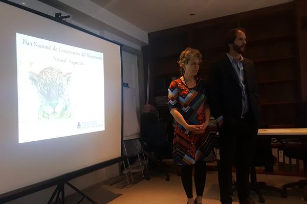 Impulsan un Plan Nacional de Conservación del Monumento Natural Yaguareté