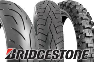 Bridgestone; Bridgestone Battlax Hypersport S20 Ultra-High Performance Radial Rear Tire; Bridgestone Battlax BT-45 Sport Touring Rear Tire; Bridgestone M204 Soft-Intermediate Terrain Rear Tire; Motorcycle Tires; Dirt Bike; Street Bike; Cruiser; Sport Bike; Touring; Product Photo; Logo