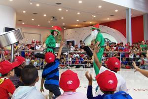 Toyota abrió sus puertas a clubes y escuelas deportivas de Zárate