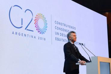 Macri inauguró el foro de eficiencia energética y energías renovables del G-20