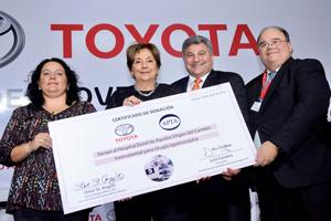 Toyota donó equipamiento médico a un hospital de Zárate