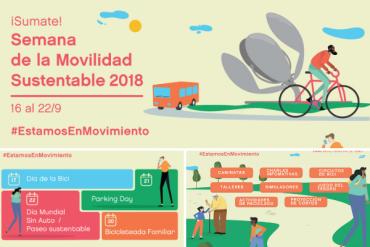 Conoce la agenda de la Semana de la #MovilidadSustentable 2018