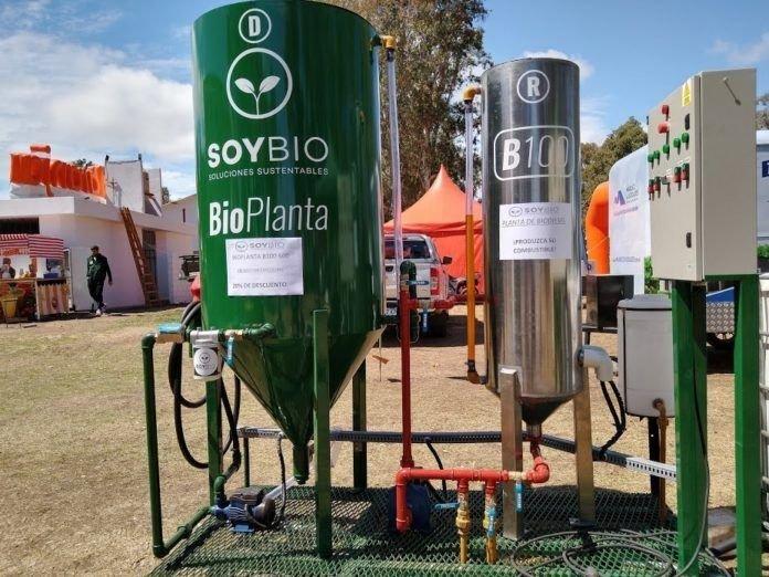 San Luis produce biodiesel sustentable en conjunto con una empresa privada